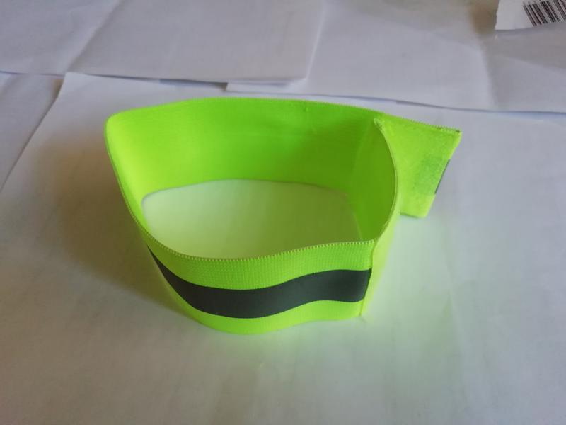 Світловідбивна стрічка з липучкою