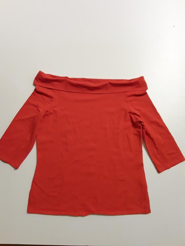Фирменная блуза лонгслив