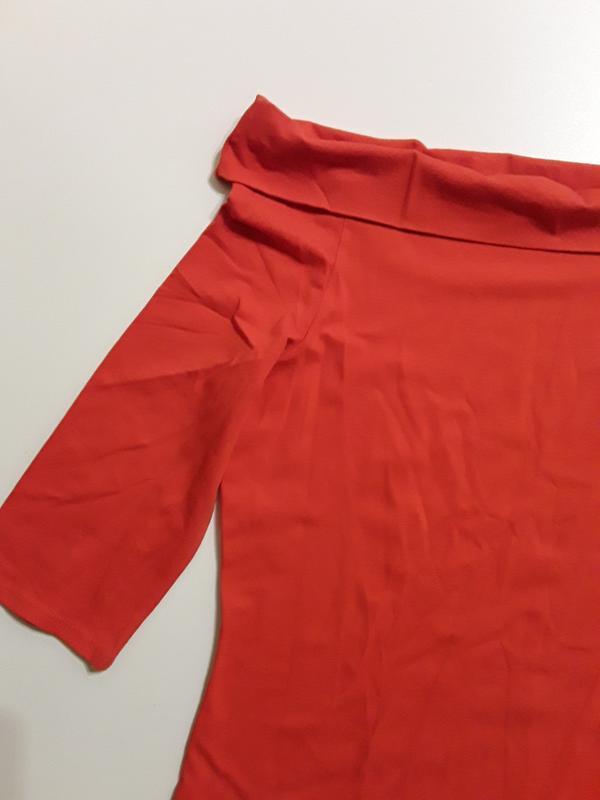 Фирменная блуза лонгслив - Фото 3