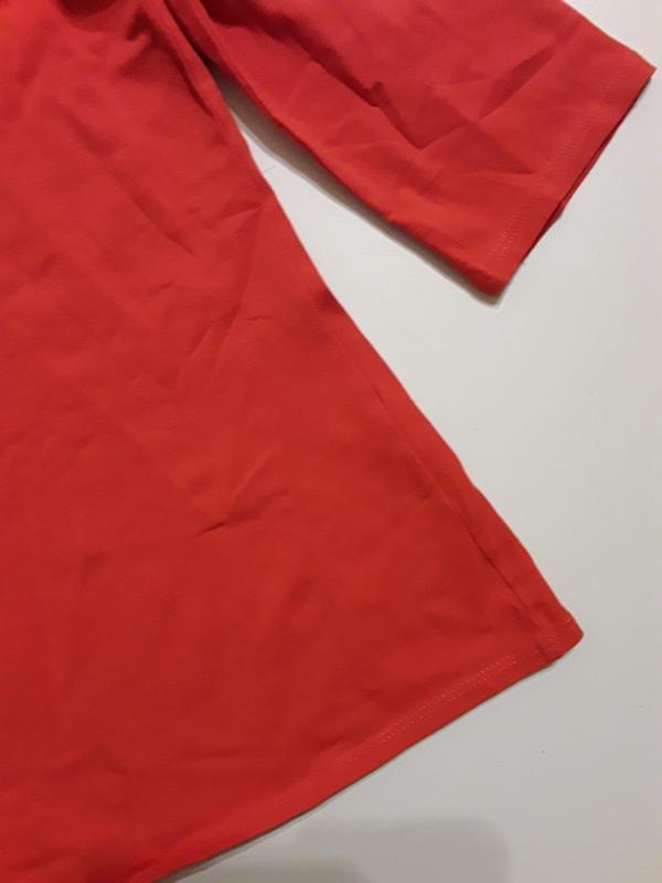Фирменная блуза лонгслив - Фото 4