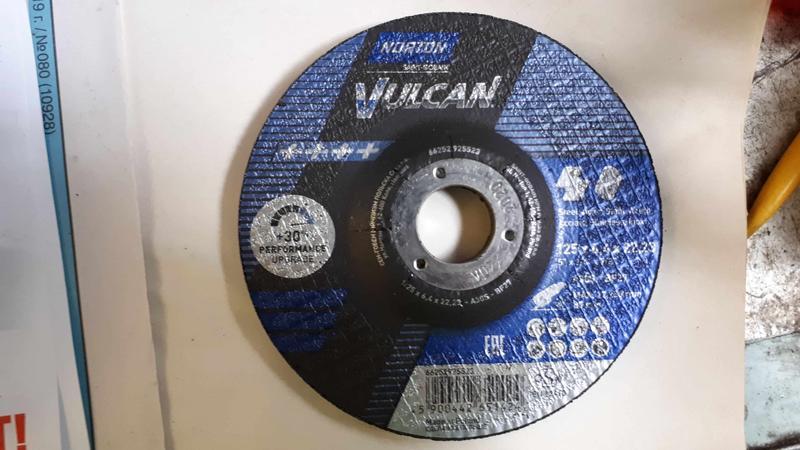 Круг зачистной125x6,4x22, 23 Norton