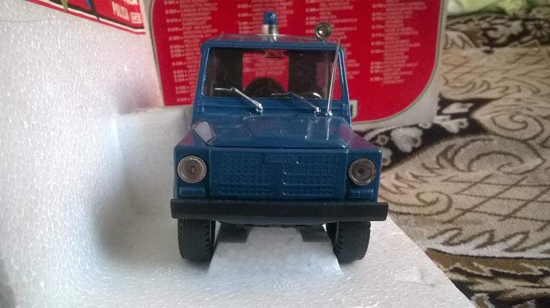 Polistil FIAT Campagnola Polizia 1:25 - Фото 3