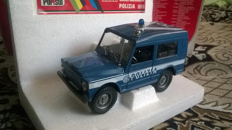 Polistil FIAT Campagnola Polizia 1:25