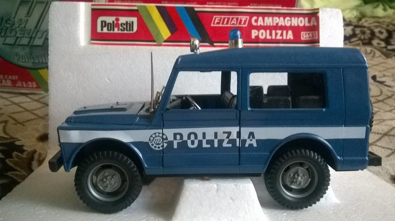Polistil FIAT Campagnola Polizia 1:25 - Фото 5