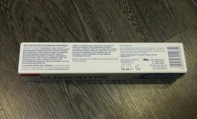 Зубна паста SENSODYNE з Німеччини - Фото 3