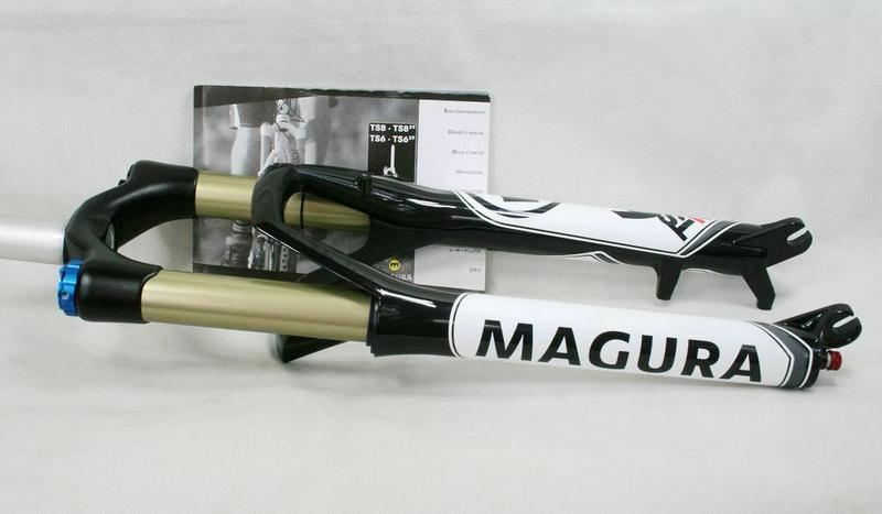 "Воздушная вилка Magura TS6 27.5 26"" 100mm Fox Rockshox - Фото 5"