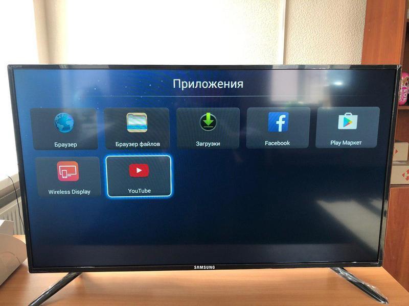 LED-телевизор Samsung 32' Smart TV НОВЫЙ Смарт-ТВ FHD, T2, WiFi - Фото 2