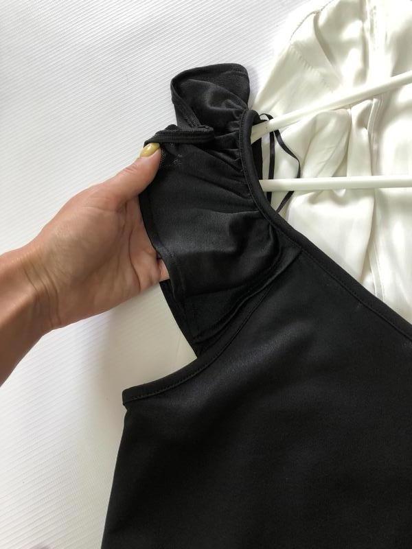 Шыкарная чёрная майка (блуза) george - Фото 2