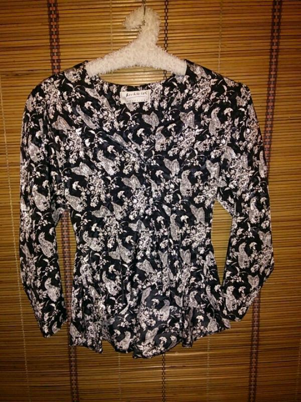Черно белый пиджачек