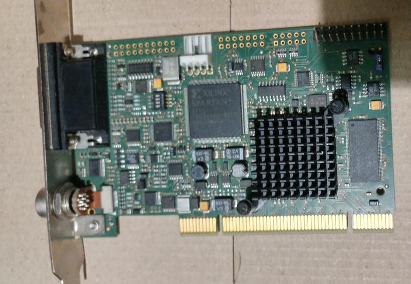 PCI карта видеозахвата mvGAMMA-G Rev 2.01 Video Capture Card