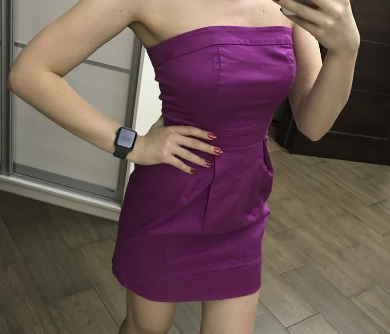 Платье без бретелей - Фото 3