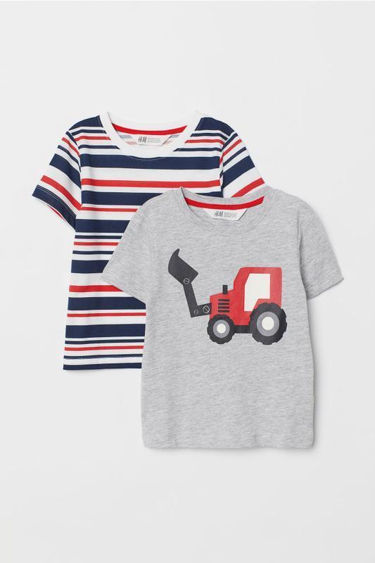 Комплект из двух футболок h&m