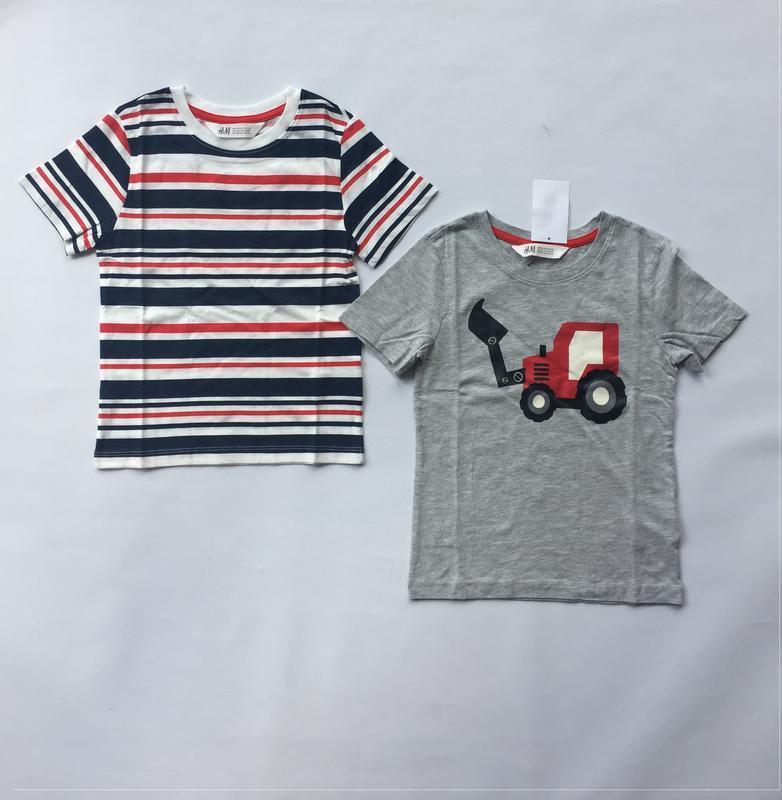 Комплект из двух футболок h&m - Фото 2