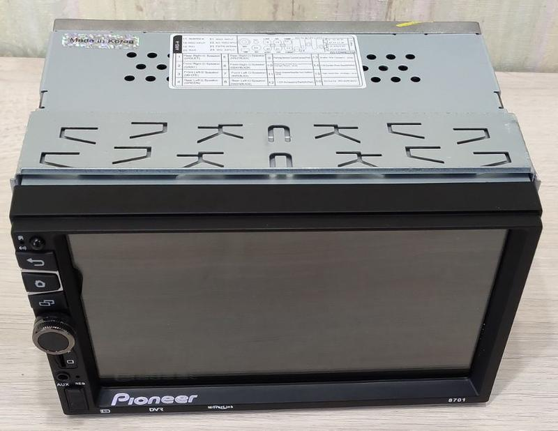 Автомагнитола Pioneer PI8701 2DIN, 7',GPS,Android,WIFI+ПУЛЬТ руль - Фото 6