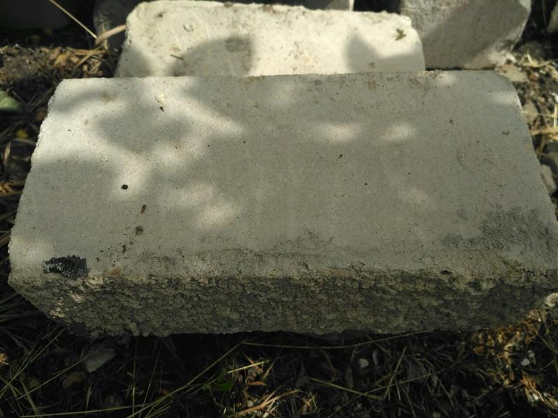 Белый силикатный кирпич б/у