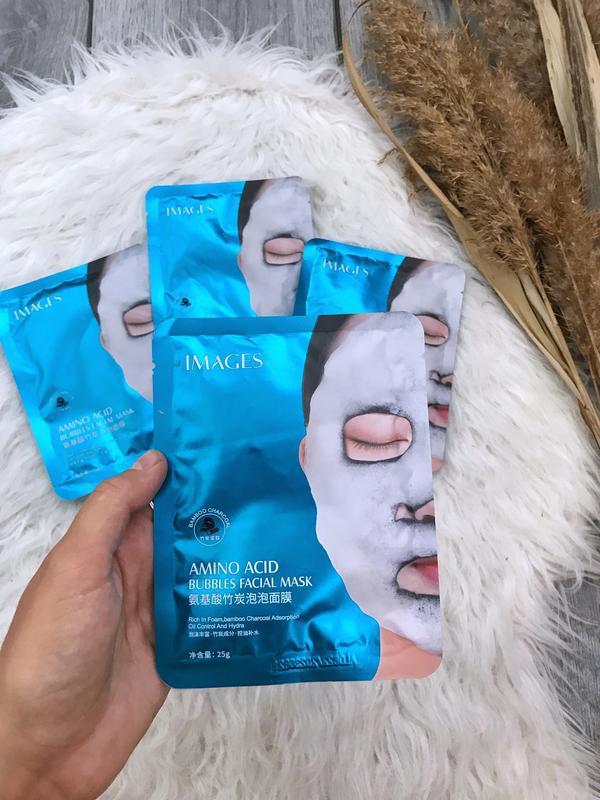 Очищающая пузырьковая маска images bubbles amino acid mask на ...