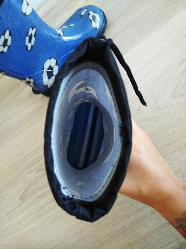 Резиновые сапоги сапожки - Фото 4