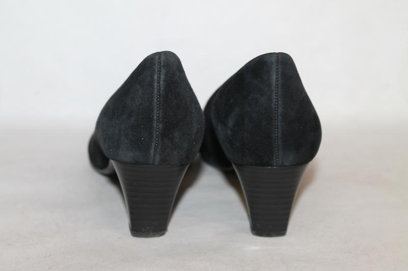 Комфортные замшевые туфли gabor 5/38 размер - Фото 5
