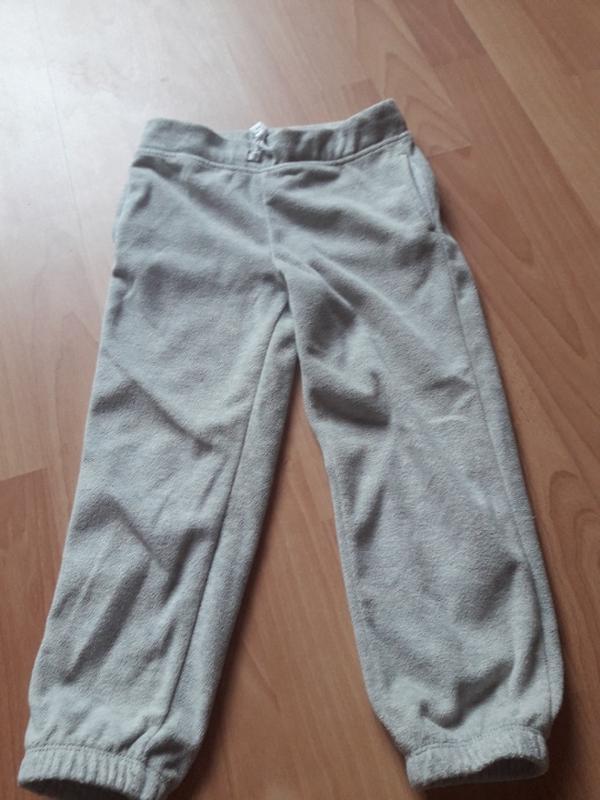 Флисовые штанишки картерс 5 лет