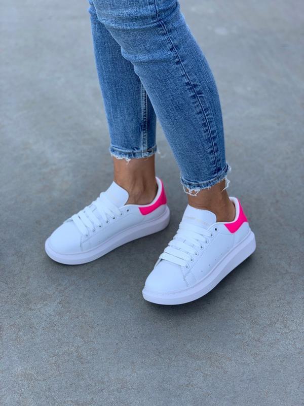 Кроссовки женские mcqueen pink - Фото 6