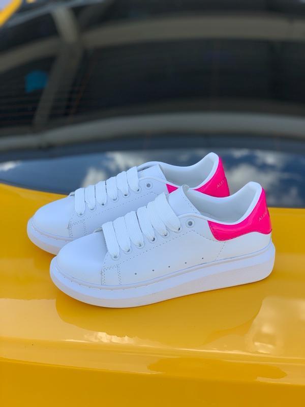 Кроссовки женские mcqueen pink - Фото 7