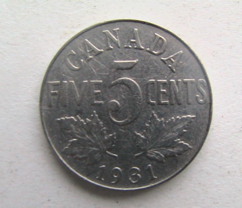 Канада 5 центов 1931 Георг V