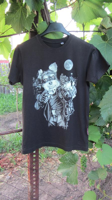 Черная футболка на мальчика