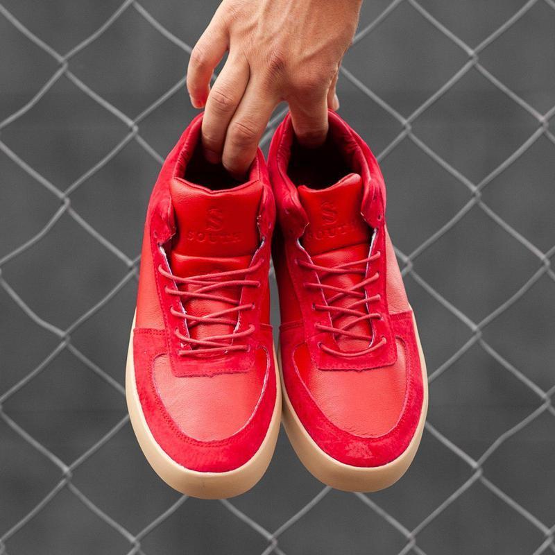 Чудесные кеды ????south wild red ????