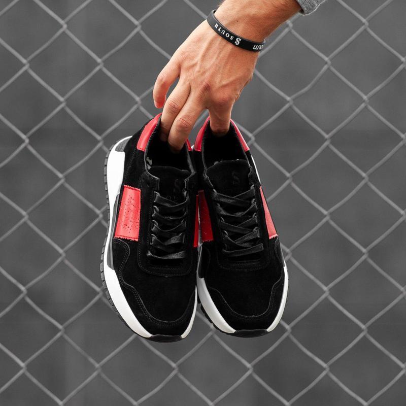 Хайповые кроссовки ???? south army black????