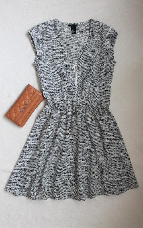 Стильное платье от h&m, размер s