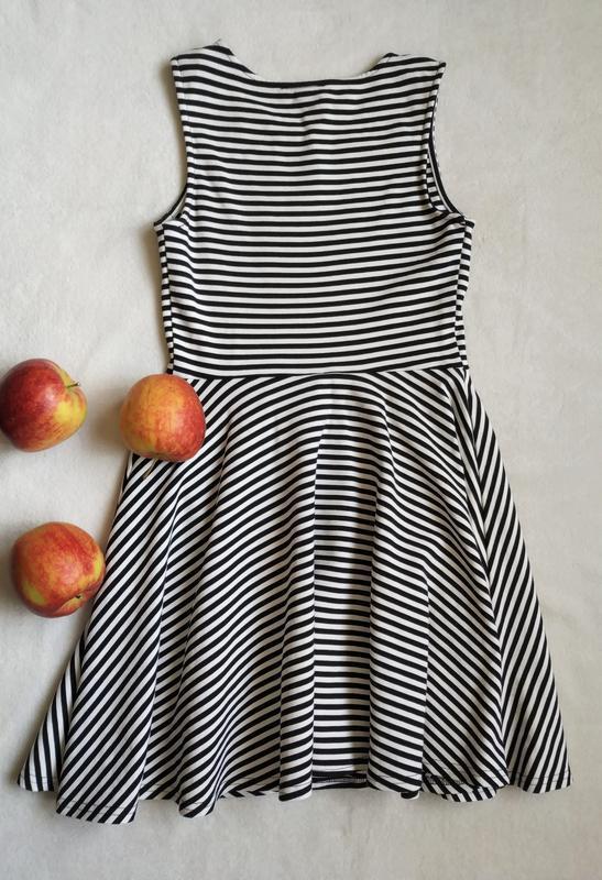 Платье в полоску от river island, размер m/l - Фото 2