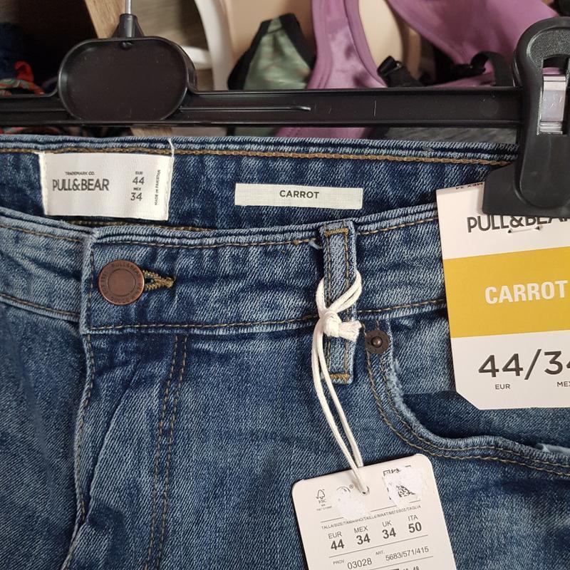 Мужские джинсы 34 - Фото 4