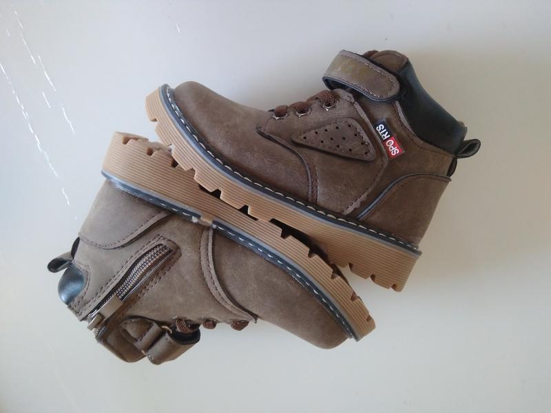 Детские демисезонные ботинки - Фото 2