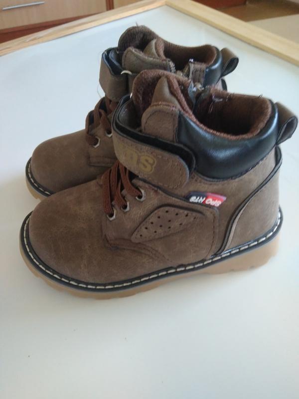 Детские демисезонные ботинки - Фото 3
