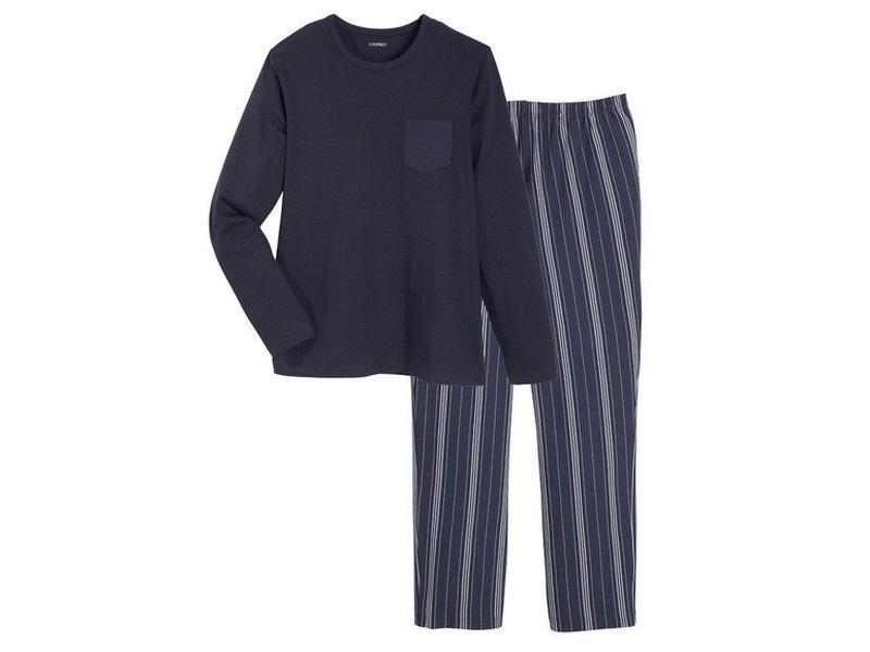 Мужская пижама домашний костюм, реглан кофта штаны, livergy ге... - Фото 2