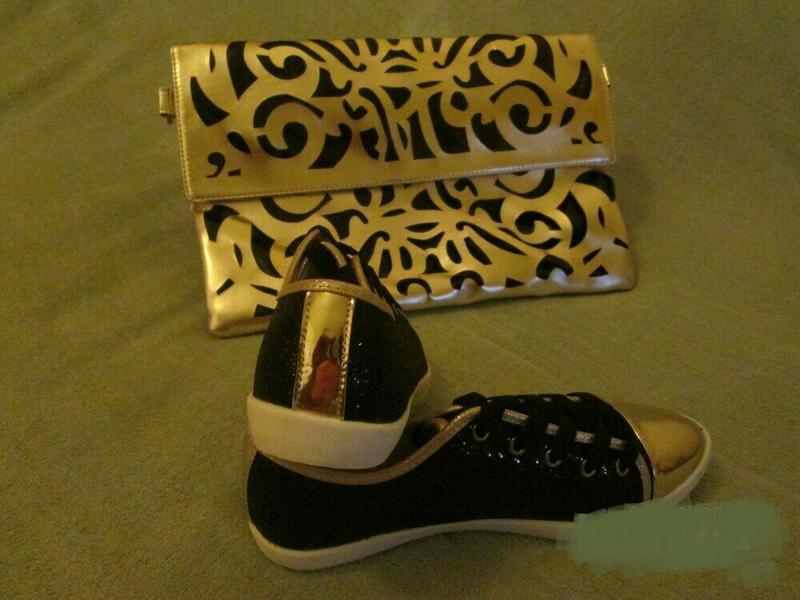 Блестящие черные лоферы, кеды, туфли - Фото 7