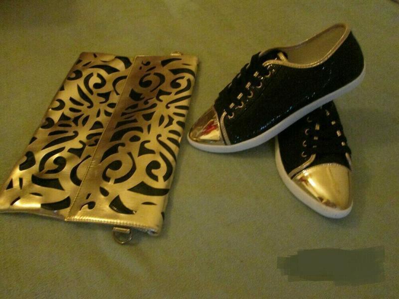 Блестящие черные лоферы, кеды, туфли - Фото 8