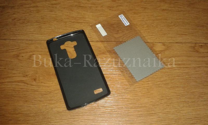 Оригинальный Чехол MELKCO и защитная пленка для LG G4S  50 грн