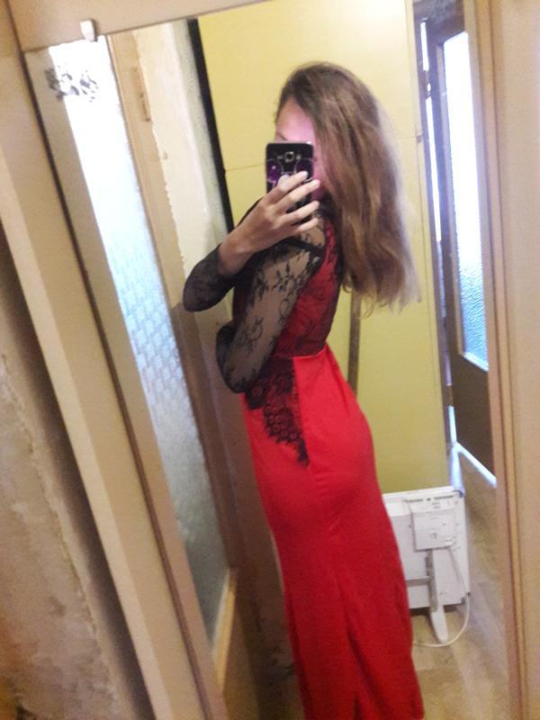 Вечернее платье L