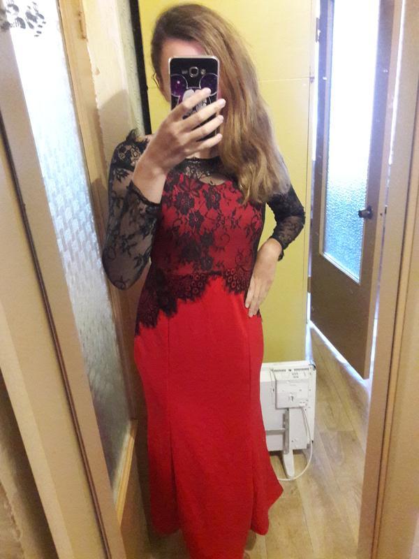 Вечернее платье L - Фото 2