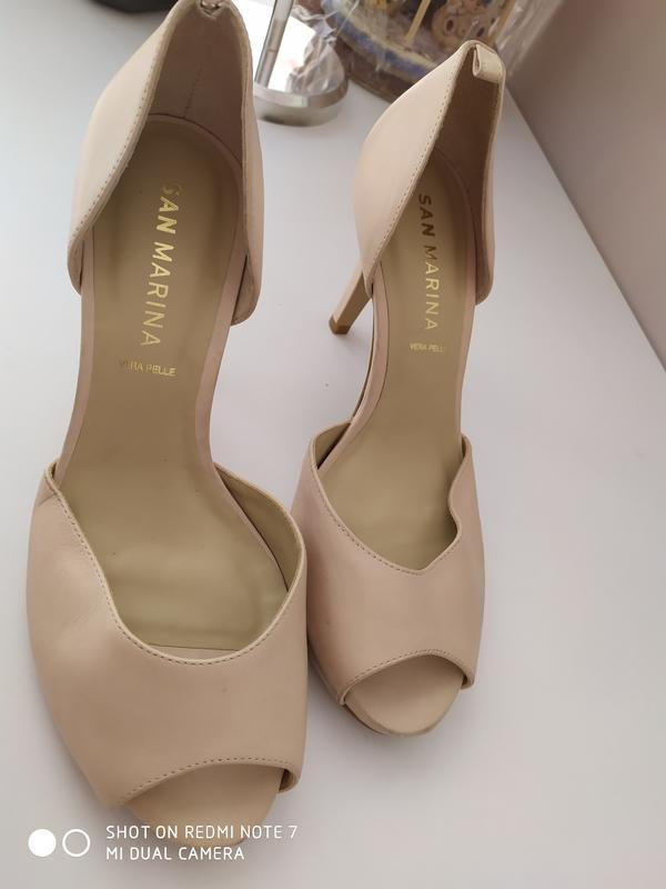Жіночі оригінальні туфлі san marina 40 розмір