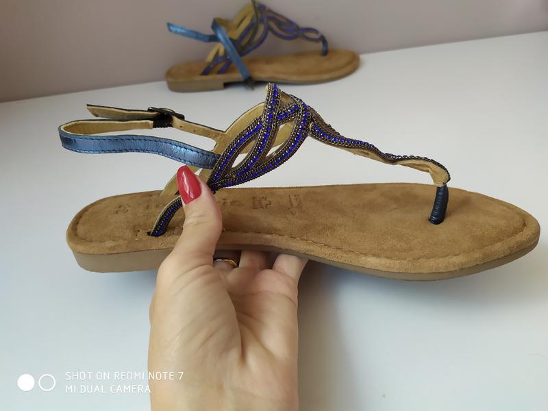 Жіночі оригінальні босоніжки tamaris 38 розмір - Фото 2