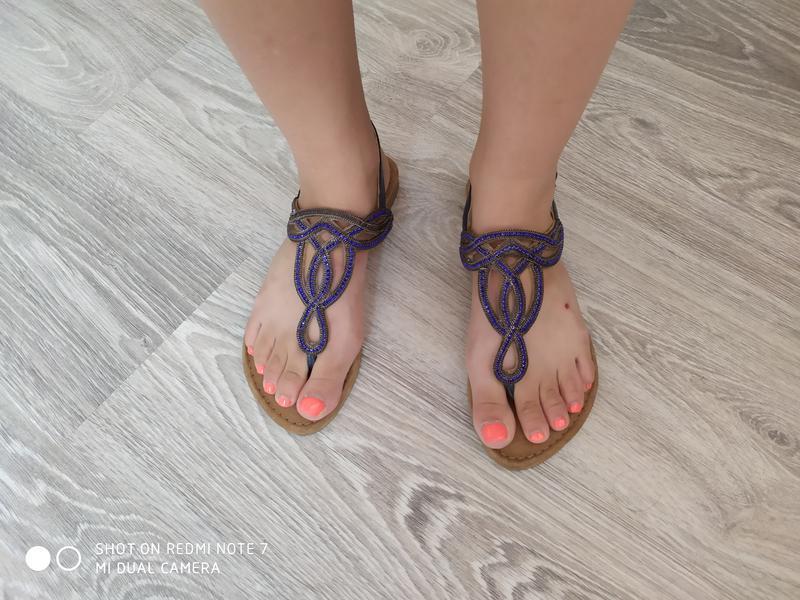 Жіночі оригінальні босоніжки tamaris 38 розмір - Фото 9