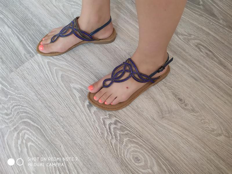 Жіночі оригінальні босоніжки tamaris 38 розмір - Фото 10