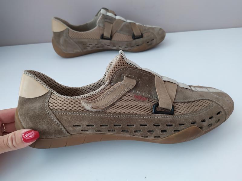 Жіночі туфлі rieker 41 розмір - Фото 5
