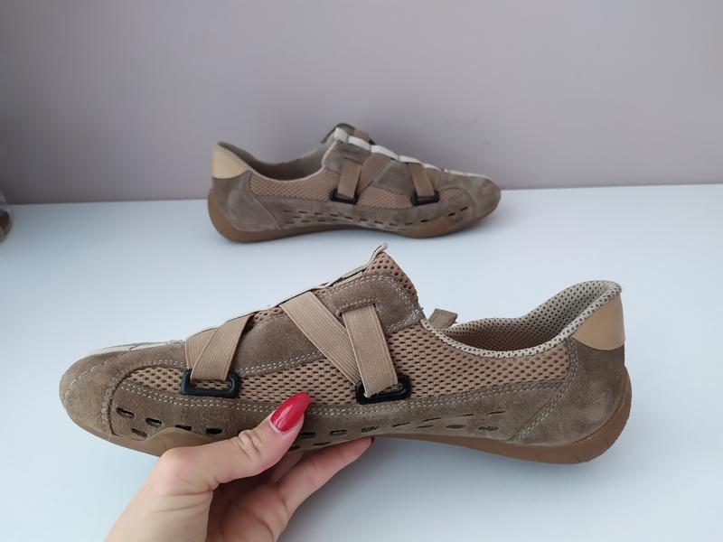 Жіночі туфлі rieker 41 розмір - Фото 6