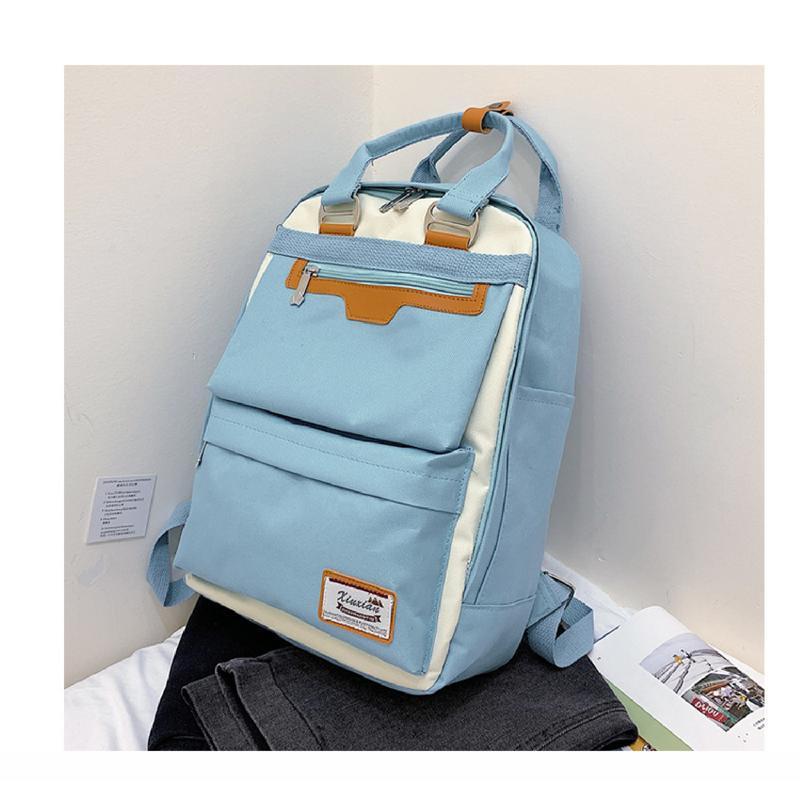Рюкзак, городской рюкзак, голубой. люкс. - Фото 2