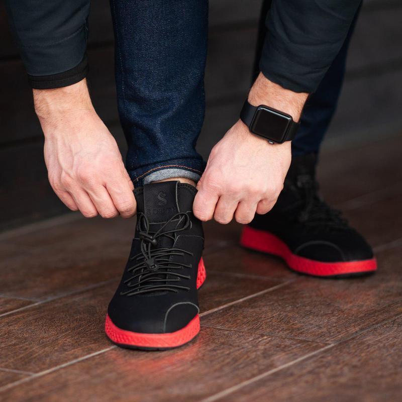 Бомбезные  кроссовки ???? south aron black ????