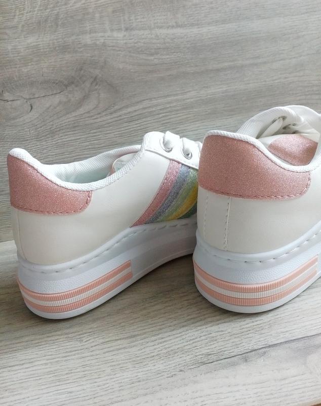Акция недели! стильные кроссовки кеды на платформе - Фото 9