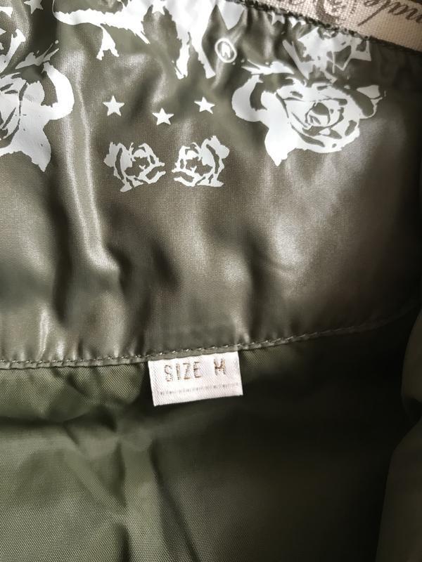 Пуховик зимний стильный модный дорогой бренд diesel размер m - Фото 9